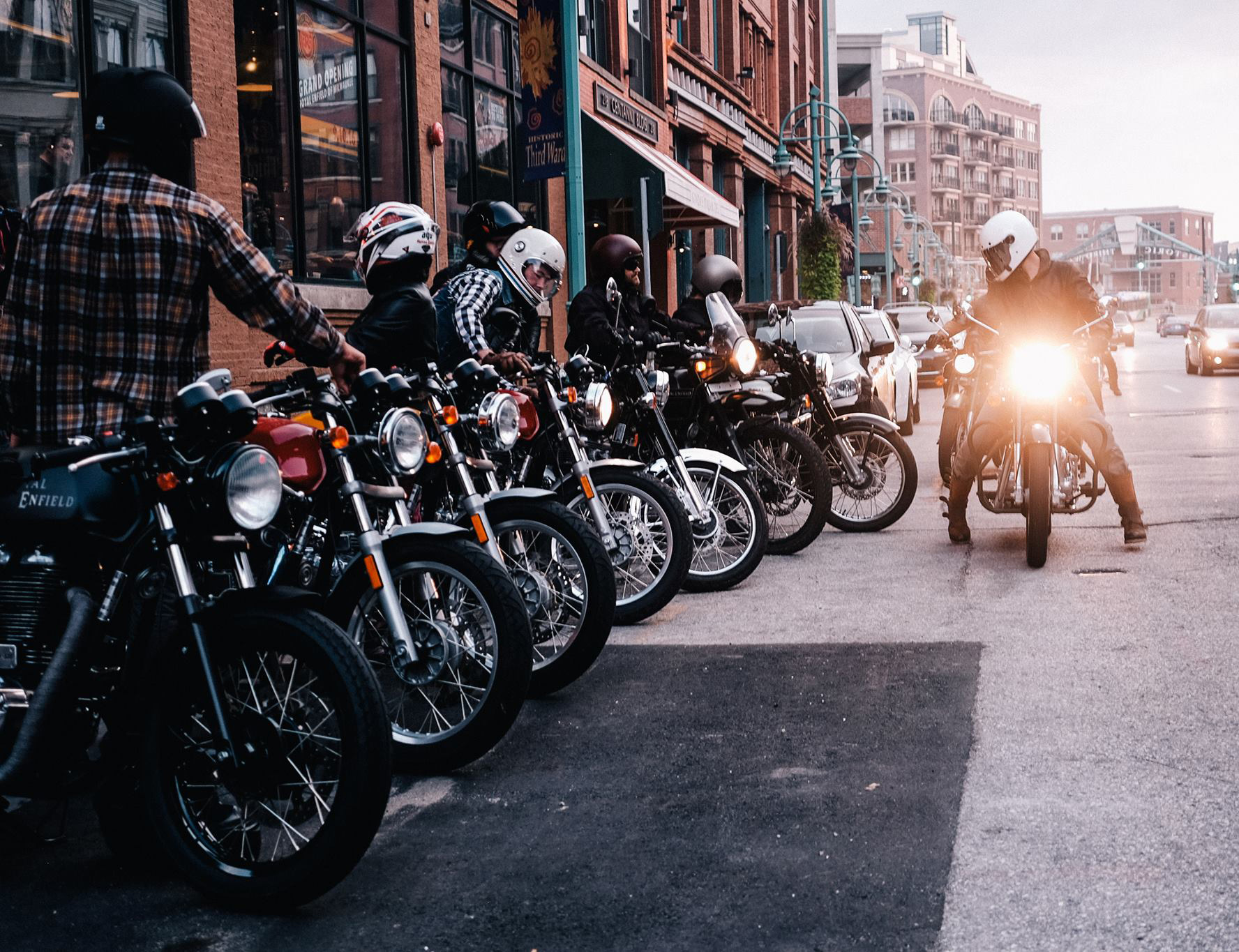 Royal Enfield North America Cruises Into Milwaukee