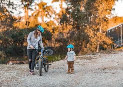 Melissa Paris and her son - Build Train Race